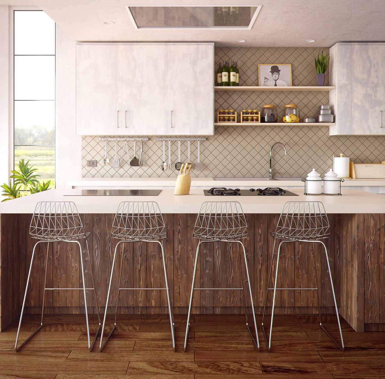 Spieki kwarcowe Laminam, Kerlite - Okleiny dekoracyjne na blaty kuchenne